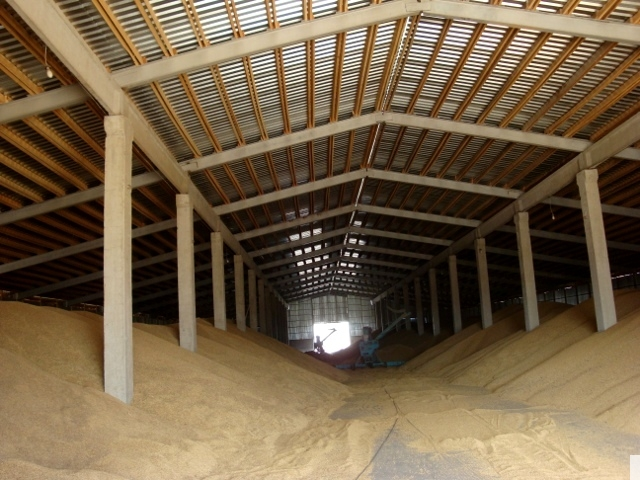 Зернохранилище своими руками фото