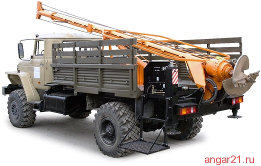 бурильно-крановая БКМ-317А